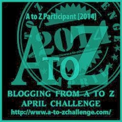 Location of all bloggers participating in this year's A-Z Challenge