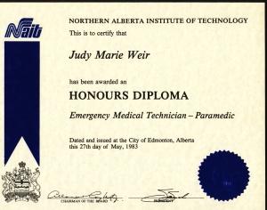 nait-paramedic-grad-1983-diploma