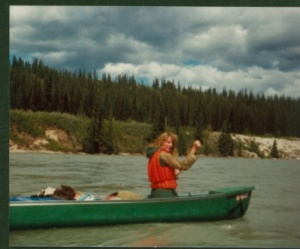 Athabasca ^1982 3 days, nearly drowned-1