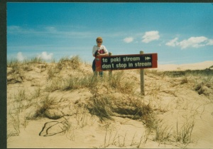 1987 New Zealand 90 m beach